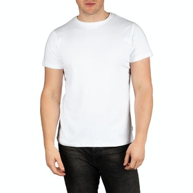 T-Shirt a Manica Corta Peregrine Made In England Classic - White