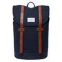 Navy With Cognac Brown Leather