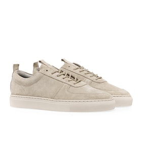 Grenson Sneaker 22 Women's Shoes - Stone Suede