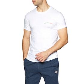 Emporio Armani Stretch Crew Short Sleeve T-Shirt - Bianco