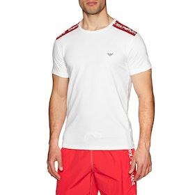 Emporio Armani Crew Neck 1 Short Sleeve T-Shirt - Bianco