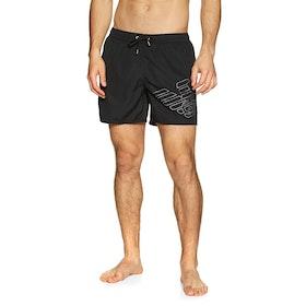 Pantaloncini da Bagno Emporio Armani 7 - Nero