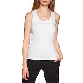 Emporio Armani Knitted Tank Women's Loungewear Tops - Bianco