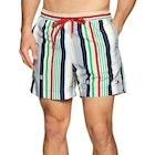 Pantaloncini da Bagno Tommy Hilfiger Multistripe