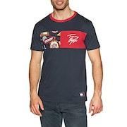 T-Shirt a Manica Corta Tommy Hilfiger Organic Crew Neck Print