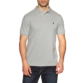 Koszulka polo Polo Ralph Lauren Basic Mesh Small Logo - Grey
