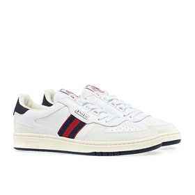 Scarpe Polo Ralph Lauren Polo Court - White Navy Red