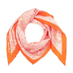 Bufanda Mujer Lauren Ralph Lauren Olivia-neckerchief-silk - Orange