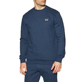 Maglione Uomo EA7 Sweatshirt 2 - Avio Melange