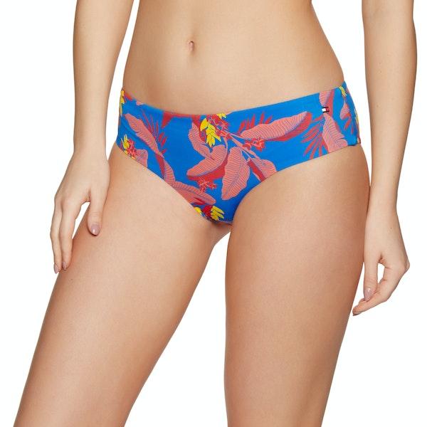 Tommy Hilfiger Tropical Print Hipster Bikiniunterteil