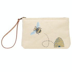 Joules Como Women's Beach Bag - Gold Bee