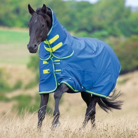 Shires Tempest Original 50 Combo Turnout Rug - Blue Lime