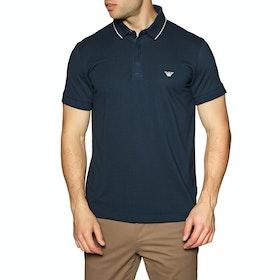 Emporio Armani Short Sleeve Polo Shirt - Blu Navy