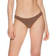 Pieza inferior de bikini Mujer RVCA Bondi Stripe Medium