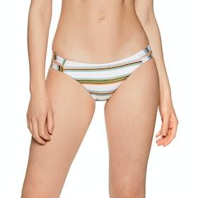 RVCA Isle Medium Womens Bikini Bottoms - Creme