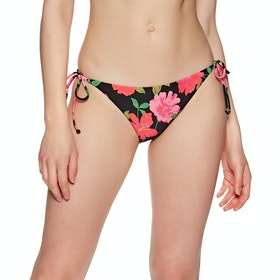 Billabong Sweet Song Tropic Womens Bikini Bottoms - Black Pebble