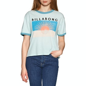 Billabong Square Short Sleeve T-Shirt - Bleached Aqua