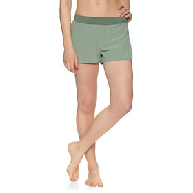 O'Neill Essential Womens Beach Shorts - Lily Pad