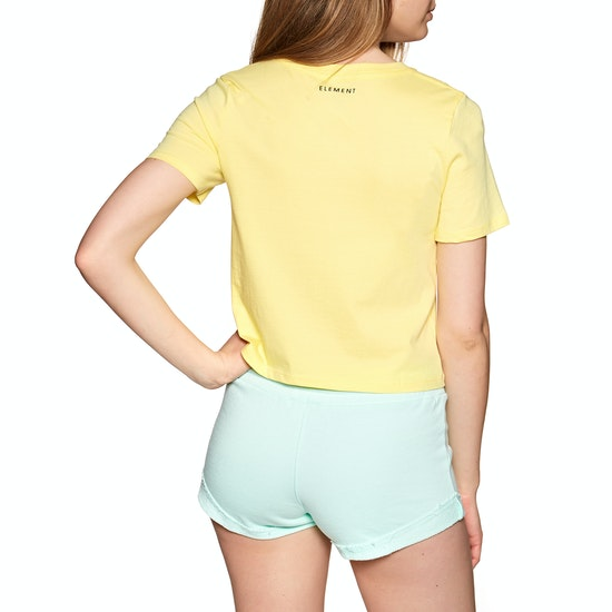 Element Branded Crop Womens Short Sleeve T-Shirt