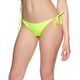 Calvin Klein Cheeky String Side Tie Women's Bikini Bottoms - Safety Yellow
