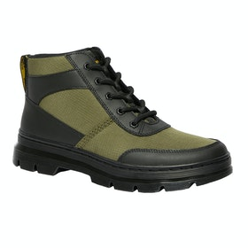 Dr Martens Bonny Tech Boots - Black Element & Dms Olive Poly Rip Stop Ot9286