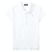Polo Ralph Lauren Cotton Mesh Girl's Polo Shirt