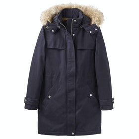 Chaqueta Mujer Joules Aspen Fur Trimmed Parka - Marine Navy