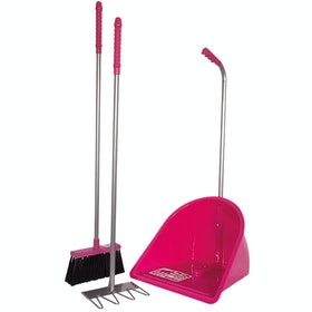 Red Gorilla Tidee Companion Set Manure Scoop - Pink