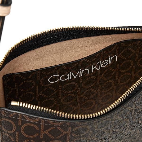 Calvin Klein Mono Logo Crossbody Torba listonoszka