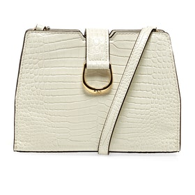 Lauren Ralph Lauren City Xbody-crossbody-medium Women's Messenger Bag - Cream