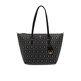 Lauren Ralph Lauren Keaton 26 Tote Small Women's Shopper Bag - Blk Chain