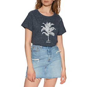 Roxy Today Good Day Womens Short Sleeve T-Shirt - Mood Indigo