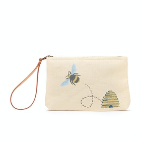 Joules Como Womens Beach Bag - Gold Bee