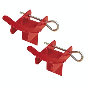 Fiches d'obstacles Stubbs Lightweight Pins and - Red
