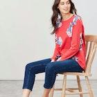 Joules Harbour Print Women's Long Sleeve T-Shirt