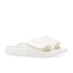 UGG La Light Sliders - White