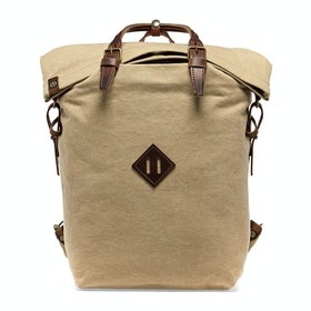 Bleu De Chauffe Woody Backpack - Blé Stonewashed
