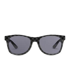 Vans Spicoli 4 Sunglasses - Black ~ Charcoal Checkerboard