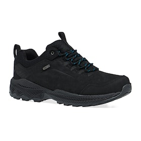 Merrell Forestbound Waterproof Walking Shoes - Black