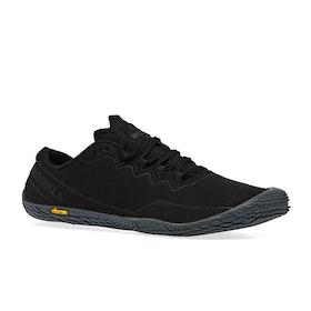 Merrell Vapor Glove 3 Luna Leather Barefoot Shoes - Black