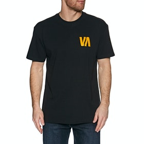 RVCA Lizard Wizard Short Sleeve T-Shirt - Black