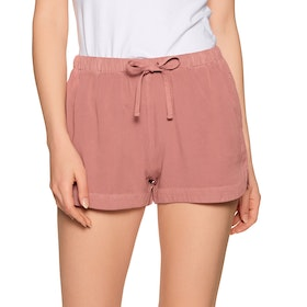 RVCA New Yume Womens Shorts - Pompei Red