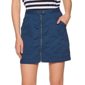 RVCA Oconnor Womens Skirt - Federal Blue