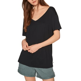 Roxy Great To Chill Womens Short Sleeve T-Shirt - Anthracite