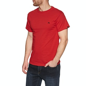 Emerica Triangle Staple Short Sleeve T-Shirt - Red