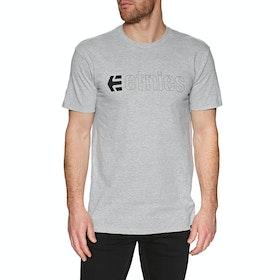 T-Shirt à Manche Courte Etnies Ecorp - Grey/heather