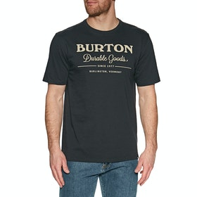 Burton Durable Goods Short Sleeve T-Shirt - True Black