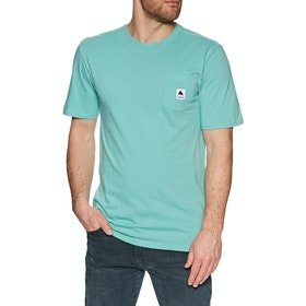 Burton Colfax Short Sleeve T-Shirt - Buoy Blue