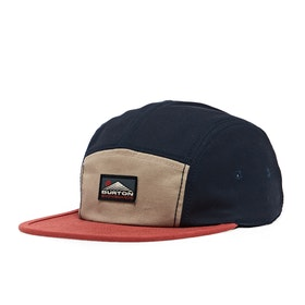 Burton Cordova 5 Panel Cap - Dress Blue Kelp