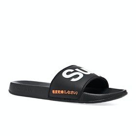 Sliders Superdry Classic Pool - Black